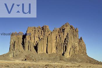 Dike, Shiprock, New Mexico, USA