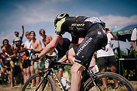 Damien Howson (AUS/Mitchelton-Scott) on pav&eacute; sector #2<br /> <br /> Stage 9: Arras Citadelle &gt; Roubaix (154km)<br /> <br /> 105th Tour de France 2018<br /> &copy;kramon