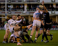 Wasps' Dan Robson in action during todays match<br /> <br /> Photographer Bob Bradford/CameraSport<br /> <br /> European Rugby Heineken Champions Cup Pool 1 - Bath Rugby v Wasps - Saturday 12th January 2019 - The Recreation Ground - Bath<br /> <br /> World Copyright &copy; 2019 CameraSport. All rights reserved. 43 Linden Ave. Countesthorpe. Leicester. England. LE8 5PG - Tel: +44 (0) 116 277 4147 - admin@camerasport.com - www.camerasport.com