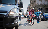 Jose Goncalves (POR/Katusha) rolling out in the streets of Milano after finishing the closing time trial<br /> <br /> stage 21: Monza - Milano (29km)<br /> 100th Giro d'Italia 2017