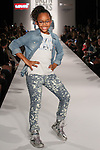 Child models walks runway during the BKLYN ROCKS fashion show at 445 Albee Square in Downtown Brooklyn, on November 09, 2016. Child models walks runway in an outfit by Levi's, during the BKLYN ROCKS fashion show at 445 Albee Square in Downtown Brooklyn, on November 09, 2016.