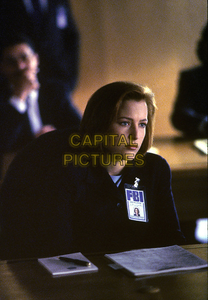 The X-Files (1993 - )<br /> (Season 5, Episode 20, &quot;The End&quot;)    <br /> Gillian Anderson<br /> *Filmstill - Editorial Use Only*<br /> CAP/KFS<br /> Image supplied by Capital Pictures