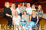 Rachel O'Mahoney from Mitchels Square enjoying her baby shower in Ristotante Uno on Thursday.<br /> Seated l to r: Esther, Rachel and Marie O'Mahoney.<br /> Back l to r: Leah Hamill, Catherine and Angela O'Mahoney, Aisling Quirke, Mary Duffin, Jade Moynihan and Karen O'Sullivan.