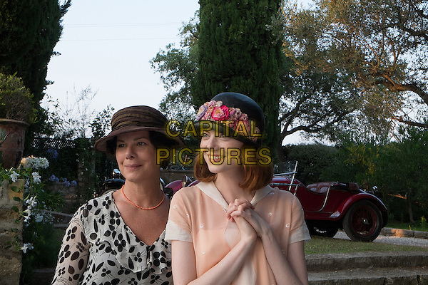 Marcia Gay Harden, Emma Stone<br /> in Magic in the Moonlight (2014)<br /> *Filmstill - Editorial Use Only*<br /> CAP/NFS<br /> Image supplied by Capital Pictures
