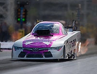 Oct 28, 2016; Las Vegas, NV, USA; NHRA funny car driver Cruz Pedregon during qualifying for the Toyota Nationals at The Strip at Las Vegas Motor Speedway. Mandatory Credit: Mark J. Rebilas-USA TODAY Sports