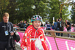 Cecilie Uttrup Ludwig (DEN) at the end of the Women Elite Road Race of the UCI World Championships 2019 running 149.4km from Bradford to Harrogate, England. 28th September 2019.<br /> Picture: Seamus Yore | Cyclefile<br /> <br /> All photos usage must carry mandatory copyright credit (© Cyclefile | Seamus Yore)
