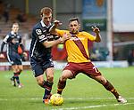 Scott McDonald tries to get around Scott Boyd