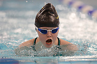 Picture by Richard Blaxall/SWpix.com - 14/04/2018 - Swimming - EFDS National Junior Para Swimming Champs - The Quays, Southampton, England - Ellie Challis of Colchester sets a new British Record during the Women's Open 50m Breaststroke