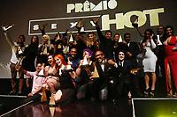 SÃO PAULO, SP, 06.06.2017- PREMIO-SP - Os ganhadores  do 4º Prêmio Sexy Hot para os destaques da indústria de filmes pornograficos brasileiro posam para fotos na Estação São Paulo, na noite desta terça-feira, 06 (Foto: Adriana Spaca/Brazil Photo Press)