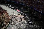 LONDON, ENGLAND - JULY 27:  General view of Team Great Britain entering the field during the Opening Ceremonies as part of the London 2012 Olympic Games at Olympic Stadium on July 27, 2012 in London, England. (Photo by Donald Miralle)
