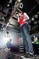 Breathe Carolina in concert during Take Action Tour at Pop's in Sauget, IL on Feb 11, 2009.