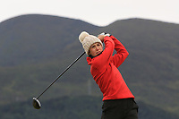 Bethan Morris (Tenby) on the 2nd tee during Round 2 of the Women's Amateur Championship at Royal County Down Golf Club in Newcastle Co. Down on Wednesday 12th June 2019.<br /> Picture:  Thos Caffrey / www.golffile.ie