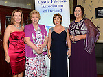 Georgina Markey, Mary McArdle, Sandra Mathews and Martha Reilly pictured at the 65 Roses ball in the Grove hotel. Photo:Colin Bell/pressphotos.ie