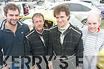 KMC rally sprint in Ballybeggan on saturday were l-r: Ray Doran, Maurice, Colm and Michael Browne (Brosna).