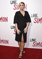 "LOS ANGELES, CA - MARCH 13: Billie Lee at the special screening of 20th Century Fox's ""Love, Simon"" at Westfield Century City on March 13, 2018 in Los Angeles, California. (Photo by Scott Kirkland/PictureGroup)"