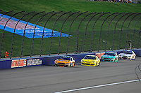 Marcos Ambrose (#9), Matt Kenseth, (#20), Ricky Stenhouse, Jr. (#17) and AJ Allmendinger (#47)