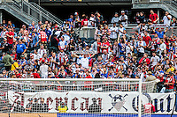 Chicago, IL - June 7, 2016: The U.S. Men's national team take on Costa Rica in the 2016 Copa America Centenario at Soldier Field.
