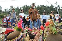 AYACUCHO,PERU 08/05/2013. Mandatario presidi&oacute; en la Plaza de Armas de Pampa Cangallo la ceremonia de inauguraci&oacute;n de obras de electrificaci&oacute;n rural en beneficio de diversas comunidades y centros poblados de la Provincia de Cangallo. <br /> <br /> Andina/NortePhoto