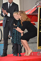 Amy Adams &amp; Aviana Olea Le Gallo &amp; Darren Le Gallo at Hollywood Walk of Fame Star Ceremony honoring actress Amy Adams.<br /> Los Angeles, USA 11th January  2017<br /> Picture: Paul Smith/Featureflash/SilverHub 0208 004 5359 sales@silverhubmedia.com