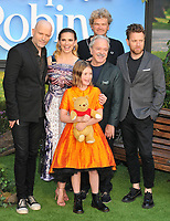 Bronte Carmichael, Hayley Atwell, Ewan McGregor and other cast members at the &quot;Christopher Robin&quot; European film premiere, BFI Southbank, Belvedere Road, London, England, UK, on Sunday 05 August 2018.<br /> CAP/CAN<br /> &copy;CAN/Capital Pictures