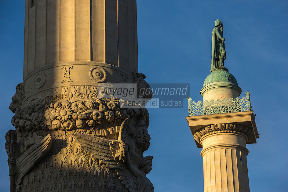 Europe,France,Ile-de-France,75011, Paris:  Place de la Nation, Les colonnes de Ledoux