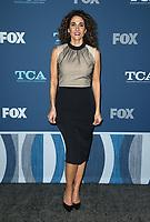 PASADENA. CA -  JANUARY 4: Melina Kanakaredes at the FOX Winter TCA 2018 All-Star Party at the Langham Huntington Hotel in Pasadena, California on January 4, 2018.  <br /> CAP/MPI/FS<br /> &copy;FS/MPI/Capital Pictures