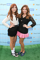 SANTA MONICA, CA - OCTOBER 21:  Jennessa Rose and Julianna Rose at the Mattel Party On The Pier Benefiting Mattel Children's Hospital UCLA - Red Carpet at Pacific Park at Santa Monica Pier on October 21, 2012 in Santa Monica, California. © mpi20/MediaPunch Inc. /NortePhoto