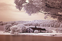 The Kluge Estate and Winery located in Albemarle County, Virginia USA. Photographed using Digital Infrared. Photo/Andrew Shurtleff