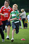 Ciaran Kinsella running in the under 12 race at the O'Raghalligh's sports day. Photo: www.pressphotos.ie