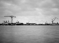Oktober 1966. Scheepswerf Mercantile Marine Engineering.