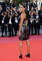 Laura Harrier at the closing gala screening for &quot;The Man Who Killed Don Quixote&quot; at the 71st Festival de Cannes, Cannes, France 19 May 2018<br /> Picture: Paul Smith/Featureflash/SilverHub 0208 004 5359 sales@silverhubmedia.com
