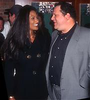 Beverly Johnson Harvey Weinstein 1996<br /> Photo By John Barrett/PHOTOlink