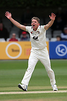 Matt Milnes of Kent claims the wicket of Tom Westley during Essex CCC vs Kent CCC, Specsavers County Championship Division 1 Cricket at The Cloudfm County Ground on 29th May 2019