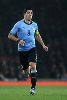 Luis Suarez of Uruguay during Brazil vs Uruguay, International Friendly Match Football at the Emirates Stadium on 16th November 2018