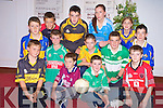 Pictured at the launch of the East Kerry GAA All-Stars competition in the Gleneagle Hotel, Killarney on Thursday night were Luke Casey, Sean O'Connor, Niall Kennedy, Conor McCarthy, Kieran O'Donoghue, Lorcan O'Connor, Corneilius Buckley, Peter McCarthy, Liam Warren, David Clifford, John McMahon, Marie Dineen and Saoirse Holland.
