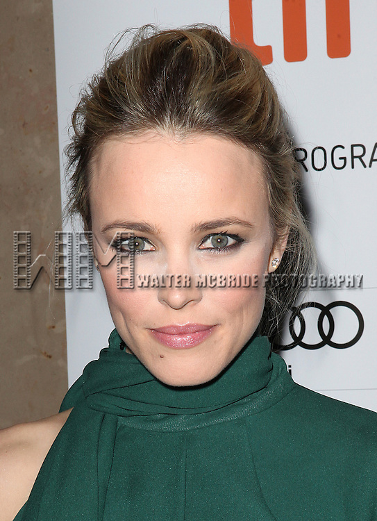 Rachel McAdams attending the The 2012 Toronto International Film Festival Red Carpet Arrivals for 'To The Wonder' at the Princess of Wales Theatre in Toronto on 9/10/2012
