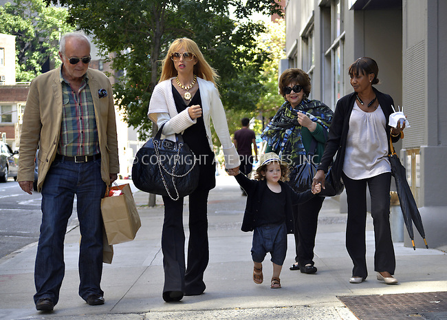 WWW.ACEPIXS.COM<br /> <br /> September 13 2013, New York City<br /> <br /> TV personality and designer Rachel Zoe walks in Soho with her son Skyler Berman and her parents Ron and Leslie Rosenzweig on September 13 2013 in New York City<br /> <br /> By Line: Curtis Means/ACE Pictures<br /> <br /> <br /> ACE Pictures, Inc.<br /> tel: 646 769 0430<br /> Email: info@acepixs.com<br /> www.acepixs.com