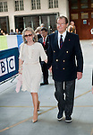 Roger Moore and Kristina Tholstrup at the BBC London, UK on 8th September, 2014 photo by Brian Jordan