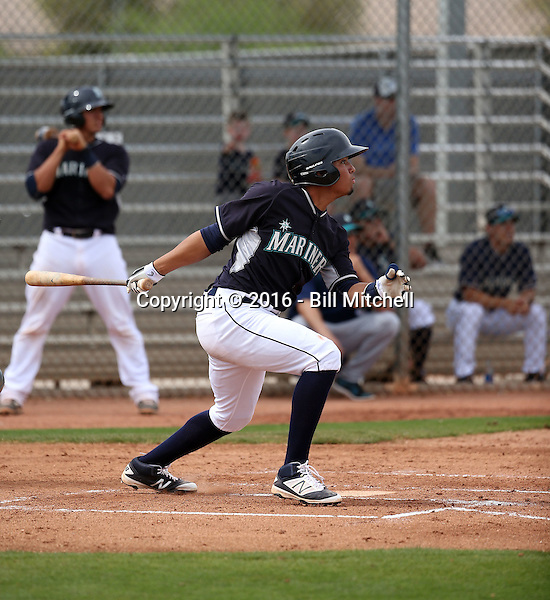 Rayder Ascanio - Seattle Mariners 2016 spring training (Bill Mitchell)