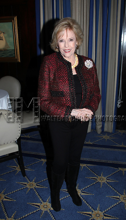 Eileen Fulton.attending the Joan Rivers hosted book party in honor of authors, Alan Shayne and Norman Sunshine's new book, 'Double Life: A Love Story from Broadway to Hollywood at the 21 Club in New York City.