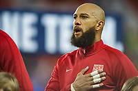 San Jose, Ca - Friday March 24, 2017: Tim Howard during the USA Men's National Team defeat of Honduras 6-0 during their 2018 FIFA World Cup Qualifying Hexagonal match at Avaya Stadium.