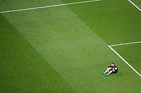 Sevilla FC's David Soria dejected after Spanish King's Cup Final match. April 21,2018. (ALTERPHOTOS/Acero)