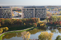 Commercial architectural photography of the United Health Group Headquarters by Minneapolis commercial photographer James Michael Kruger with LandMark Photography.
