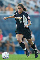 Shannon Boxx of the Power. Boxx scored the Power's only goal in the 61 minute. The Atlanta Beat and the NY Power played to a 1-1 tie on 7/26/03 at Mitchel Athletic Complex, Uniondale, NY..