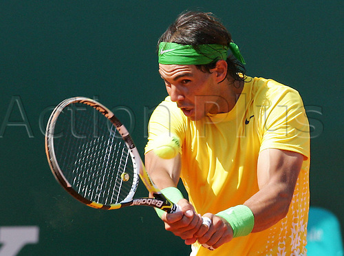13 04 2011   Rafael Nadal From Spain in Second  at the  Monte Carlo Rolex Masters
