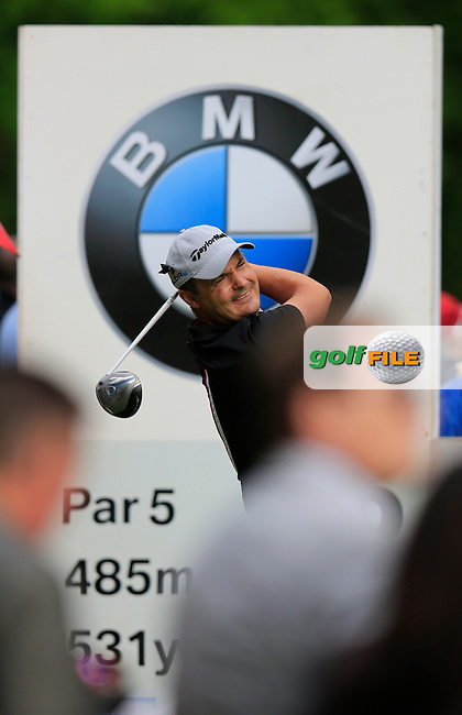 Simon KHAN (ENG) during round one of the BMW PGA championship, Wentworth Golf Club, Virginia Waters, London.<br /> Picture: Fran Caffrey www.golffile.ie
