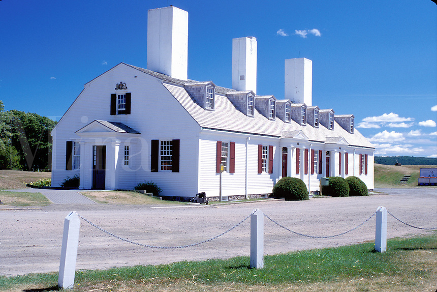 Nova Scotia, Annapolis Royal, NS, Canada, Fort Anne National Historic Site and Museum in Annapolis Royal.