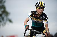 Jolien Verschueren (BEL/Young Telenet-Fidea)<br /> <br /> women's race<br /> Superprestige Zonhoven 2015
