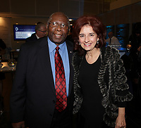 Montreal , CANADA - Nov 20 -  Jazz Pianist  Oliver Jones honored at the<br /> Tribute to great Montrealers, November 20, 2014.<br /> <br /> Photo :  Agence Quebec Presse - Pierre Roussel
