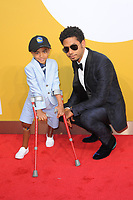 www.acepixs.com<br /> June 26, 2017  New York City<br /> <br /> Kayden Kinckle, Jussie Smollett attending the 2017 NBA Awards live on TNT on June 26, 2017 in New York City.<br /> <br /> Credit: Kristin Callahan/ACE Pictures<br /> <br /> <br /> Tel: 646 769 0430<br /> Email: info@acepixs.com